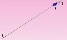 Игла для забора яйцеклеток/аспирации кисты яичниковов