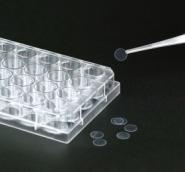 Покровные стёкла для культуральных планшетов(диски) 9,0 х 0,11 мм