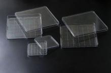Чашки Петри квадратные 245х245х28 мм, стер.
