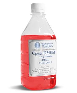Среда DMEM с глутамином, сод.глюкозы 4,5 г/л